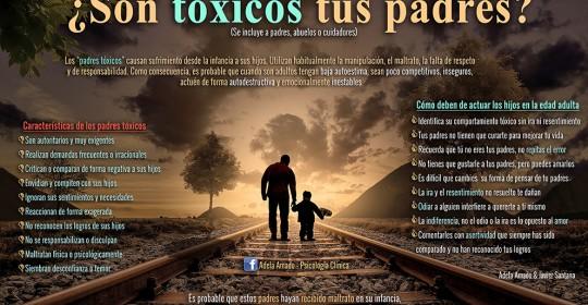 ¿Son tóxicos tus padres?
