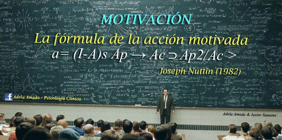 Fórmula de la motivación.