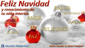 feliz navidad por Adela Amado